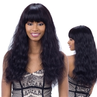Glamourtress, wigs, weaves, braids, half wigs, full cap, hair, lace front, hair extension, nicki minaj style, Brazilian hair, crochet, hairdo, wig tape, remy hair, Naked 100% Unprocessed Brazilian Virgin Hair Premium Wig -  Elliana