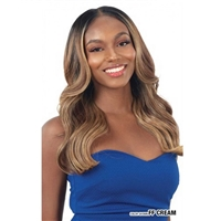 Glamourtress, wigs, weaves, braids, half wigs, full cap, hair, lace front, hair extension, nicki minaj style, Brazilian hair, crochet, wig tape, remy hair, Lace Front Wigs, Freetress Equal Level Up HD Lace Front Wig - KAMALA
