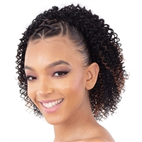 Glamourtress, wigs, weaves, braids, half wigs, full cap, hair, lace front, hair extension, nicki minaj style, Brazilian hair, crochet, hairdo, wig tape, remy hair, Lace Front Wigs, Freetress Equal Synthetic Flex Crochet Ponytail - C- MINI CURL
