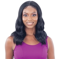 Glamourtress, wigs, weaves, braids, half wigs, full cap, hair, lace front, hair extension, nicki minaj style, Brazilian hair, crochet, wig tape, remy hair, Lace Front Wigs, Freetress Equal Illusion Synthetic 13X5 Free Parting Frontal Lace Wig - IL 004