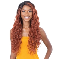 Glamourtress, wigs, weaves, braids, half wigs, full cap, hair, lace front, hair extension, nicki minaj style, Brazilian hair, crochet, hairdo, wig tape, remy hair, Lace Front Wigs, Remy Hair, Freetress Equal Lace&Lace Synthetic Hair Lace Front Wig YELENA