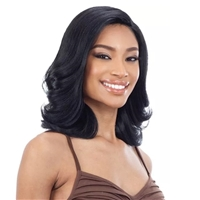 Glamourtress, wigs, weaves, braids, half wigs, full cap, hair, lace front, hair extension, nicki minaj style, Brazilian hair, crochet, hairdo, wig tape, remy hair, Lace Front Wigs, Freetress Equal Synthetic Hair 5 Inch Lace Part Wig - NATURAL SET (L)