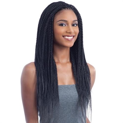 Freetress Crochet Braid 2x Nigerian Pre Stretched Braid 24