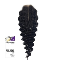 Glamourtress, wigs, weaves, braids, half wigs, full cap, hair, lace front, hair extension, nicki minaj style, Brazilian hair, crochet, hairdo, wig tape, remy hair, Lace Front Wigs, Shake-N-Go Organique Mastermix Synthetic Lace Closure - DEEP WAVE 16""