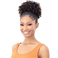 Glamourtress, wigs, weaves, braids, half wigs, full cap, hair, lace front, hair extension, nicki minaj style, Brazilian hair, crochet, hairdo, wig tape, remy hair, Lace Front Wigs, Remy Hair,Freetress Equal Synthetic Ponytail Pony Pop - LUSCIOUS POP
