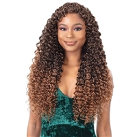 Glamourtress, wigs, weaves, braids, half wigs, full cap, hair, lace front, hair extension, nicki minaj style, Brazilian hair, crochet, hairdo, wig tape, remy hair, Lace Front Wigs, Remy Hair, Freetress Synthetic Braid - 3X MAZO CURL 18