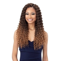 Glamourtress, wigs, weaves, braids, half wigs, full cap, hair, lace front, hair extension, nicki minaj style, Brazilian hair, crochet, hairdo, wig tape, remy hair, Lace Front Wigs, Remy Hair, Freetress Synthetic Braid - 3X SUMMER DEEP 18""