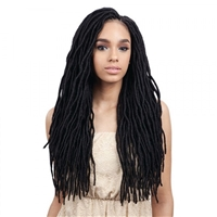 Glamourtress, wigs, weaves, braids, half wigs, full cap, hair, lace front, hair extension, nicki minaj style, Brazilian hair, crochet, hairdo, wig tape, remy hair, Lace Front Wigs, Remy Hair, Human Hair, Freetress Synthetic Braid 2X Soft Wavy Faux Loc 20""