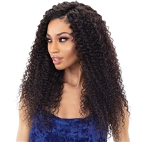 "Glamourtress, wigs, weaves, braids, half wigs, full cap, hair, lace front, hair extension, nicki minaj style, Brazilian hair, crochet, hairdo, wig tape, remy hair, Lace Front Wigs, Shake N Go IBIZA 100% Virgin Human Hair Weave - SPANISH CURL 22""-24"""