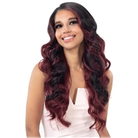 Glamourtress, wigs, weaves, braids, half wigs, full cap, hair, lace front, hair extension, nicki minaj style, Brazilian hair, crochet, wig tape, remy hair, Lace Front Wigs, Freetress Equal HD Illusion Lace Frontal Wig - HDL 04