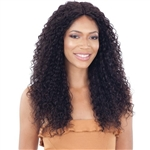 Glamourtress, wigs, weaves, braids, half wigs, full cap, hair, lace front, hair extension, nicki minaj style, Brazilian hair, crochet, hairdo, wig tape, remy hair, Lace Front Wigs, Naked Brazilian Natural Human Hair Lace Front Wig - BREEON