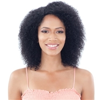 Glamourtress, wigs, weaves, braids, half wigs, full cap, hair, lace front, hair extension, nicki minaj style, Brazilian hair, crochet, hairdo, wig tape, remy hair, Lace Front Wigs, Naked Brazilian Wet & Wavy Human Har Lace Front Wig - SUMMER CURL