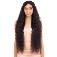 Glamourtress, wigs, weaves, braids, half wigs, full cap, hair, lace front, hair extension, nicki minaj style, Brazilian hair, crochet, hairdo, wig tape, remy hair, Shake-N-Go Naked 100% Human Hair Freedom Lace Part Wig - Natural 705