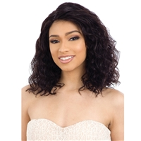 "Glamourtress, wigs, weaves, braids, half wigs, full cap, hair, lace front, hair extension, nicki minaj style, Brazilian hair, crochet, hairdo, wig tape, remy hair, Lace Front Wigs, Naked Natural Brazilian Human Hair 5"" Part Lace Front Wig - NATURAL 302"