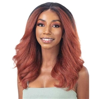 Glamourtress, wigs, weaves, braids, half wigs, full cap, hair, lace front, hair extension, nicki minaj style, Brazilian hair, crochet, wig tape, remy hair, Lace Front Wigs, Freetress Equal Natural Me HD Lace Front Wig - MAY