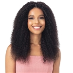Glamourtress, wigs, weaves, braids, half wigs, full cap, hair, lace front, hair extension, nicki minaj style, Brazilian hair, crochet, hairdo, wig tape, remy hair, Naked Nature 100% Brazilian Virgin Wet & Wavy Weave - BOHEMIAN CURL 3PCS ( 14,16,18 )