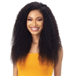 Glamourtress, wigs, weaves, braids, half wigs, full cap, hair, lace front, hair extension, nicki minaj style, Brazilian hair, crochet, hairdo, wig tape, remy hair, Naked Nature 100% Brazilian Virgin Wet & Wavy Weave - BOHEMIAN CURL 3PCS ( 18,20,22 )