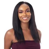 Glamourtress, wigs, weaves, braids, half wigs, full cap, hair, lace front, hair extension, nicki minaj style, Brazilian hair, crochet, hairdo, wig tape, remy hair, Lace Front Wigs, Naked Nature 100% Brazilian Virgin Wet & Wavy Weave - DEEP WAVE 3PCS ( 10,