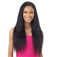 Glamourtress, wigs, weaves, braids, half wigs, full cap, hair, lace front, hair extension, nicki minaj style, Brazilian hair, crochet, hairdo, wig tape, remy hair, Naked Nature 100% Brazilian Virgin Wet & Wavy Weave - DEEP WAVE 3PCS ( 18,20,22 )