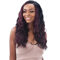 Glamourtress, wigs, weaves, braids, half wigs, full cap, hair, lace front, hair extension, nicki minaj style, Brazilian hair, crochet, hairdo, wig tape, remy hair, Lace Front Wigs, Shake-N-Go Organique Mastermix Weave - BALI WAVE 4PCS (14/16/18 Inch + 4x4