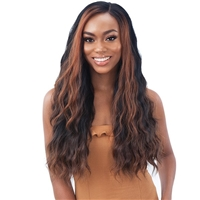 Glamourtress, wigs, weaves, braids, half wigs, full cap, hair, lace front, hair extension, nicki minaj style, Brazilian hair, crochet, hairdo, wig tape, remy hair, Lace Front Wigs, Shake-N-Go Organique Mastermix Weave - BALI WAVE 4PCS (18/20/22 Inch + 4x4