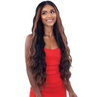 Glamourtress, wigs, weaves, braids, half wigs, full cap, hair, lace front, hair extension, nicki minaj style, Brazilian hair, crochet, hairdo, wig tape, remy hair, Shake-N-Go Organique Mastermix Weave - BALI WAVE 4PCS (24/26/28 Inch + 4x4 lace closure)