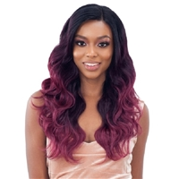 Glamourtress, wigs, weaves, braids, half wigs, full cap, hair, lace front, hair extension, nicki minaj style, Brazilian hair, crochet, hairdo, wig tape, remy hair, Lace Front Wigs, Remy Hair, Organique Mastermix Weave - BODY WAVE 4PCS (14/16/18 + 4x4 lace