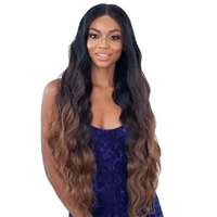 Glamourtress, wigs, weaves, braids, half wigs, full cap, hair, lace front, hair extension, nicki minaj style, Brazilian hair, crochet, hairdo, wig tape, remy hair, Lace Front Wigs, Organique Mastermix Weave - ORGANIQUE BODY WAVE 4PCS (24/26/28 + 4X4 lace