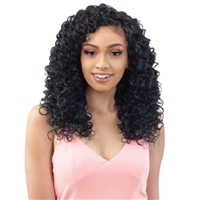 Glamourtress, wigs, weaves, braids, half wigs, full cap, hair, lace front, hair extension, nicki minaj style, Brazilian hair, crochet, hairdo, wig tape, remy hair, Lace Front Wigs, Organique Mastermix Weave - HAWAIIAN CURL 24