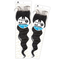 Glamourtress, wigs, weaves, braids, half wigs, full cap, hair, lace front, hair extension, nicki minaj style, Brazilian hair, crochet, hairdo, wig tape, remy hair, Lace Front Wigs, Organique Mastermix Weave - 4X4 LACE CLOSURE LOOSE DEEP 16