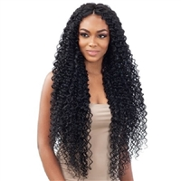 Glamourtress, wigs, weaves, braids, half wigs, full cap, hair, lace front, hair extension, nicki minaj style, Brazilian hair, crochet, hairdo, wig tape, remy hair, Lace Front Wigs, Remy Hair, Organique Mastermix Weave - WATER CURL 30""