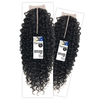 Glamourtress, wigs, weaves, braids, half wigs, full cap, hair, lace front, hair extension, nicki minaj style, Brazilian hair, crochet, hairdo, wig tape, remy hair, Lace Front Wigs, Organique Mastermix Weave - WATER WAVE LACE CLOSURE 16