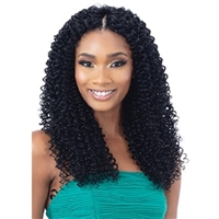 Glamourtress, wigs, weaves, braids, half wigs, full cap, hair, lace front, hair extension, nicki minaj style, Brazilian hair, crochet, hairdo, wig tape, remy hair, Lace Front Wigs, Organique Mastermix Weave - WATER WAVE 3PCS (18/20/22)