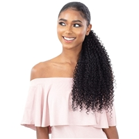 Glamourtress, wigs, weaves, braids, half wigs, full cap, hair, lace front, hair extension, nicki minaj style, Brazilian hair, crochet, hairdo, wig tape, remy hair, Lace Front Wigs, Shake N Go Organique Pony Pro Mastermix Pony Wrap - BOHEMIAN CURL 32