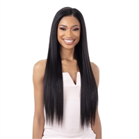 Glamourtress, wigs, weaves, braids, half wigs, full cap, hair, lace front, hair extension, nicki minaj style, Brazilian hair, crochet, hairdo, wig tape, remy hair, Lace Front Wigs, Milky Way Weave - ORGANIQUE YAKY STRAIGHT 4PCS ( 18/20/22 + 4x4 CLOSURE )