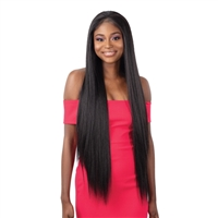 Glamourtress, wigs, weaves, braids, half wigs, full cap, hair, lace front, hair extension, nicki minaj style, Brazilian hair, crochet, hairdo, wig tape, remy hair, Lace Front Wigs, Milky Way Weave - ORGANIQUE YAKY STRAIGHT 4PCS ( 24/26/28 + 4x4 CLOSURE )