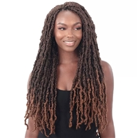 Glamourtress, wigs, weaves, braids, half wigs, full cap, hair, lace front, hair extension, nicki minaj style, Brazilian hair, crochet, hairdo, wig tape, remy hair, Lace Front Wigs, Remy Hair,Freetress Synthetic Braid - DISTRESSED LOC 22""