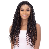 Glamourtress, wigs, weaves, braids, half wigs, full cap, hair, lace front, hair extension, nicki minaj style, Brazilian hair, crochet, hairdo, wig tape, remy hair, Lace Front Wigs, Remy Hair, Freetress Synthetic Braid - HIPSTA LOC 18""