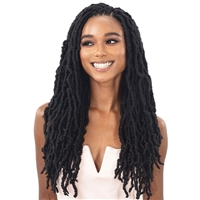 Glamourtress, wigs, weaves, braids, half wigs, full cap, hair, lace front, hair extension, nicki minaj style, Brazilian hair, crochet, hairdo, wig tape, remy hair, Lace Front Wigs, Remy Hair, Freetress Synthetic Braid - 3X NIKKI LOC 14