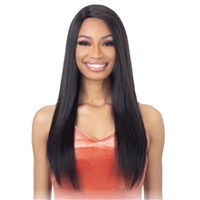 "Glamourtress, wigs, weaves, braids, half wigs, full cap, hair, lace front, hair extension, nicki minaj style, Brazilian hair, crochet, hairdo, wig tape, remy hair, Lace Front Wigs, Remy Hair, Saga 100% Human Hair 5"" R-Part Lace Front Wig - MANALI"