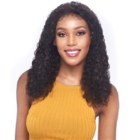 Glamourtress, wigs, weaves, braids, half wigs, full cap, hair, lace front, hair extension, nicki minaj style, Brazilian hair, crochet, hairdo, wig tape, remy hair, Vanessa 100% Brazilian Human Hair Swissilk Lace Front Wig - THH KISHA
