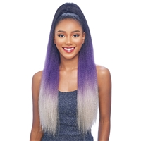 Glamourtress, wigs, weaves, braids, half wigs, full cap, hair, lace front, hair extension, nicki minaj style, Brazilian hair, crochet, wig tape, remy hair, Lace Front Wigs, Vanessa 100% Premium Synthetic Original Braiding Touch Drawstring - STB YACRA 26