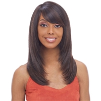 Glamourtress, wigs, weaves, braids, half wigs, full cap, hair, lace front, hair extension, nicki minaj style, Brazilian hair, crochet, hairdo, wig tape, remy hair, Lace Front Wigs, Remy Hair, Human Hair, Vanessa Enjoy Fashion Wig - JOY TESIO
