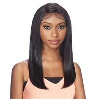 Glamourtress, wigs, weaves, braids, half wigs, full cap, hair, lace front, hair extension, nicki minaj style, Brazilian hair, crochet, hairdo, wig tape, Vanessa Tops Y-Part Slayd Braid Chic Lace Front Wig - YSB MOHICA