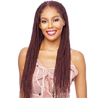 Glamourtress, wigs, weaves, braids, half wigs, full cap, hair, lace front, hair extension, nicki minaj style, Brazilian hair, crochet, hairdo, wig tape, remy hair, Lace Front Wigs, Vanessa Synthetic Designer Lace Front Wig - TDBL BOXY 34