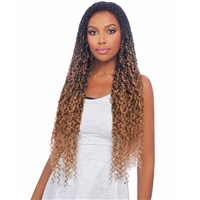 Glamourtress, wigs, weaves, braids, half wigs, full cap, hair, lace front, hair extension, nicki minaj style, Brazilian hair, crochet, hairdo, wig tape, remy hair, Lace Front Wigs, Vanessa Synthetic Designer Tops Braid Lace Front Wig - TBL PASSION TWIST