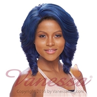 Glamourtress, wigs, weaves, braids, half wigs, full cap, hair, lace front, hair extension, nicki minaj style, Brazilian hair, crochet, hairdo, wig tape, remy hair, Lace Front Wigs, Remy Hair, Human Hair, Vanessa Synthetic Lace Front Wig Super VC Sevin