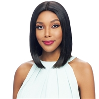 Glamourtress, wigs, weaves, braids, half wigs, full cap, hair, lace front, hair extension, nicki minaj style, Brazilian hair, crochet, hairdo, wig tape, remy hair, Vanessa 100% Brazilian Human Hair Swissilk Lace Front Wig - TMH LOHIO