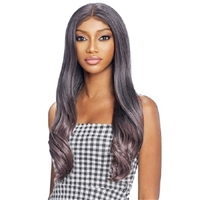 Glamourtress, wigs, weaves, braids, half wigs, full cap, hair, lace front, hair extension, nicki minaj style, Brazilian hair, crochet, hairdo, wig tape, remy hair, Vanessa Synthetic Slayd Chic Lace Front Wig - TSC PRISCILLA