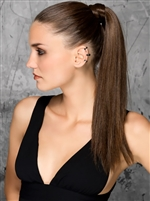 Ellen Wille | Aqua Ponytail Extension
